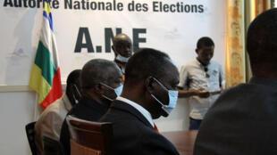 L'ancien président François Bozizé est venu à l'Autorité nationale des élections (ANE) ce 9 novembre dans la matinée déposer son dossier de candidature pour la présidentielle qui doit se tenir le 27 décembre 2020.