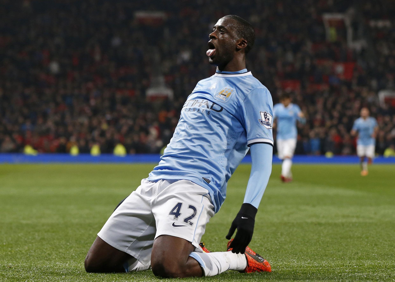 Yaya Touré, nà Manchester City