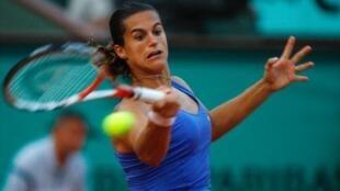 Roland Garros est déjà terminé pour Amélie Mauresmo.