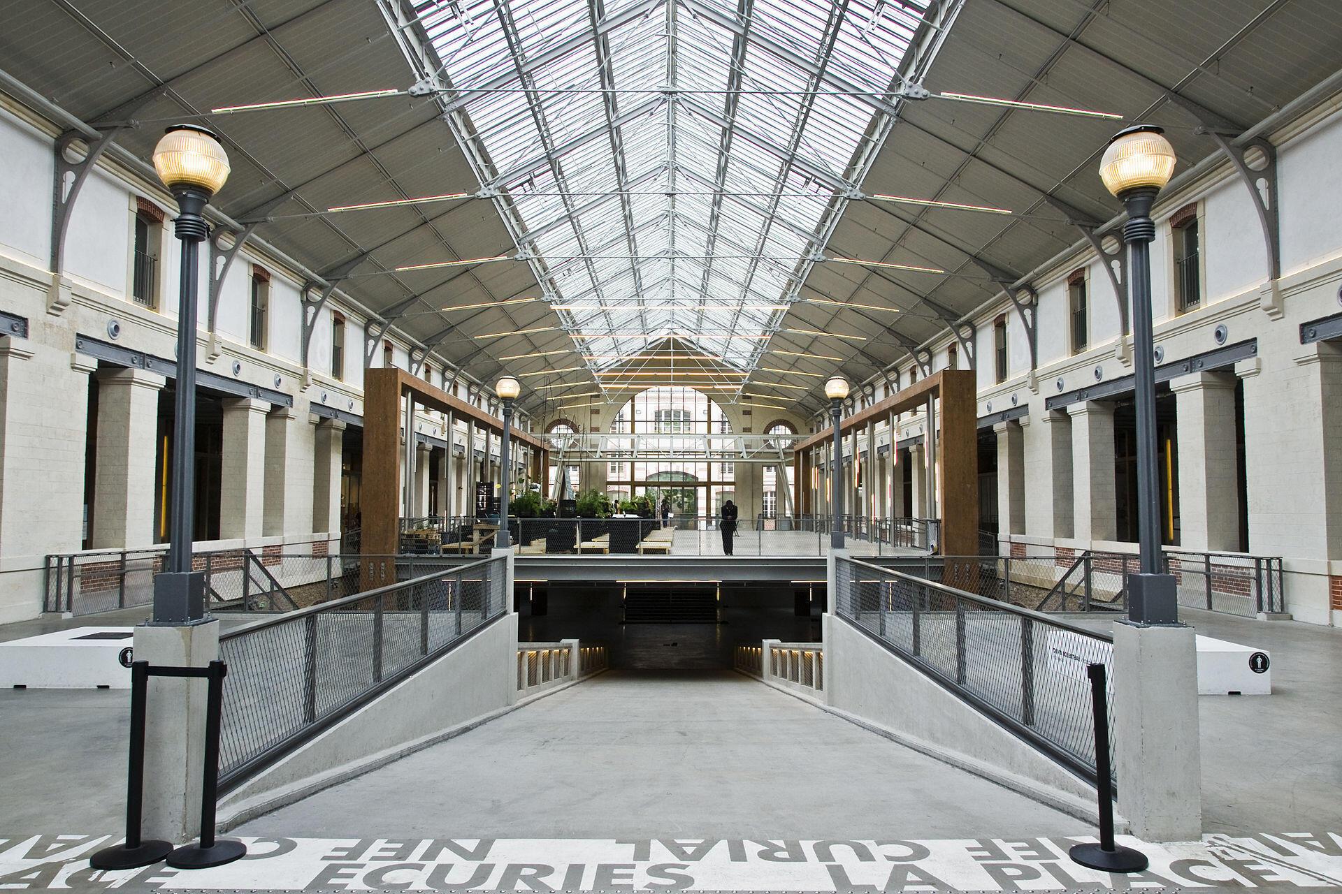 Le Centquatre contemporary arts centre in Paris