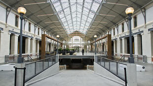 Le Centquatre contemporary arts centre in Paris