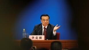 Li Keqiang, le 17 mars 2013.