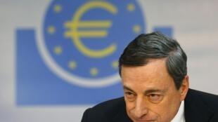 Le président de la BCE, Mario Draghi.