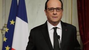 François Hollande s'est adressé aux Français suite à l'attaque du siège de «Charlie Hebdo», le 7 janvier 2015.