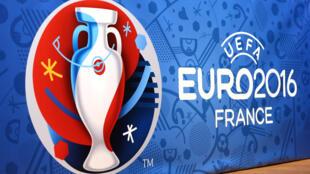 Logo giải bóng đá Châu Âu EURO2016