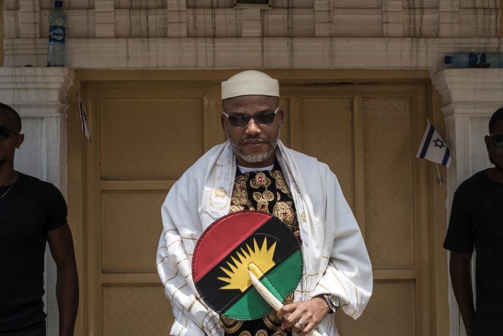 Nnamdi Kanu nigeria biafra ipob séparatiste