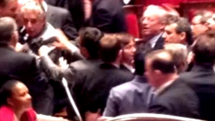 The confrontation in the French parliament Thursday night