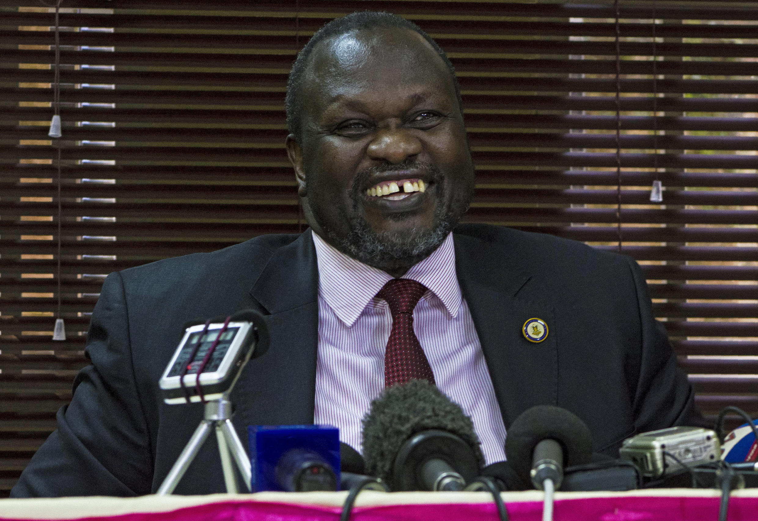 Riek Machar has been named the vice president of South Sudan.