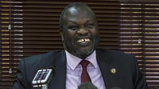 Jagoran 'yan adawa Sudan ta Kudu Riek Machar ya Isa Juba