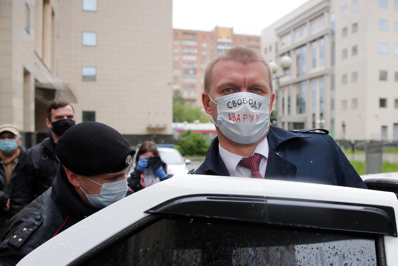 Возле Мосгорсуда 1 июня задержали депутата Мосгордумы Евгения Ступина