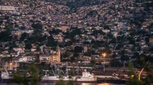 Vue du port de Matadi en RDC (illustration).