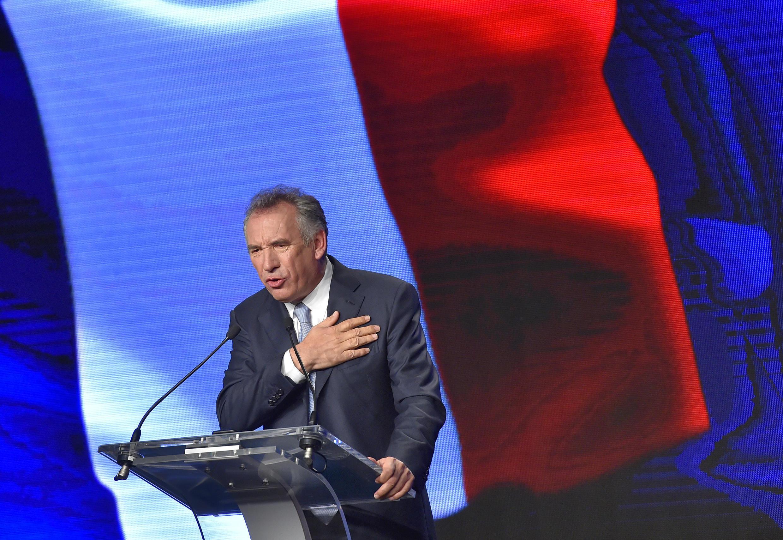 François Bayrou a 25 de Setembro em Guidel.