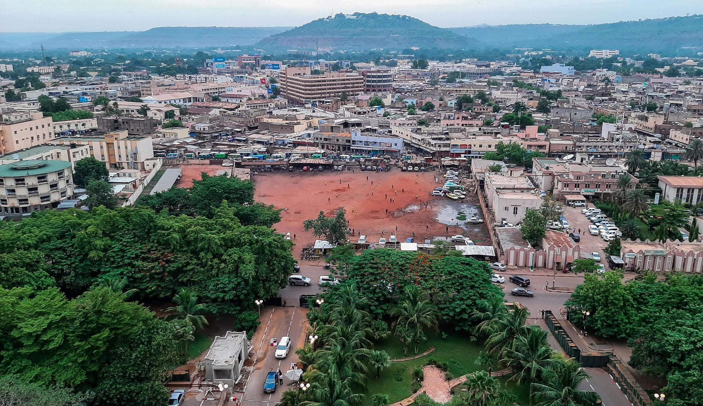 Moja ya maeneo ya mji mkuu wa Mali, Bamako.