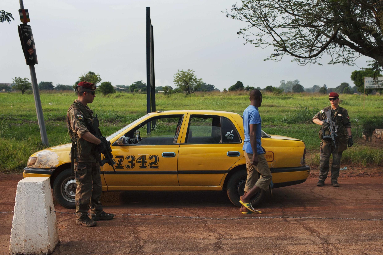 La seguridad ha sido reforzada en varios puntos de Bangui, la capital de la RCA.