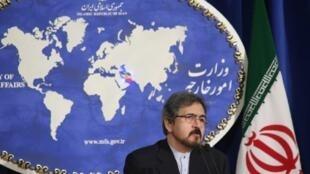 بهرام قاسمی، سخنگوی وزارت خارجه ایران