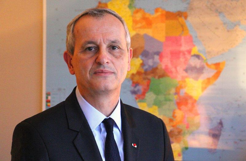 Le général Didier Brousse, directeur de la Direction de la Coopération de Sécurité et de Défense (DCSD) du ministère de l'Europe et des Affaires Étrangères (MAE).