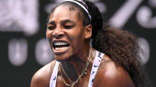 La joueuse de tennis américaine Serena Williams, le 24 janvier 2020 à Melbourne