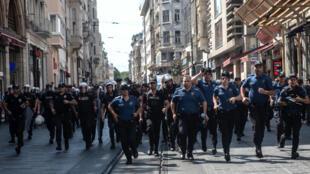 La manifestation est aujourd'hui interdite, pour la première fois depuis des années. Les manifestants s'attendent donc à être confrontés aux forces de l'ordre.