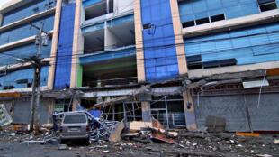 Forte terremoto abalou a região sudeste das Filipinas neste sábado, 11 de fevereiro de 2017.