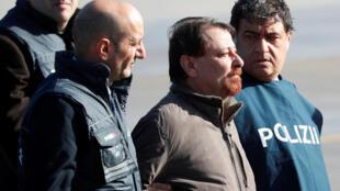曾是意大利極左翼武裝團夥的巴蒂斯蒂逃匿近40年後被遣返羅馬