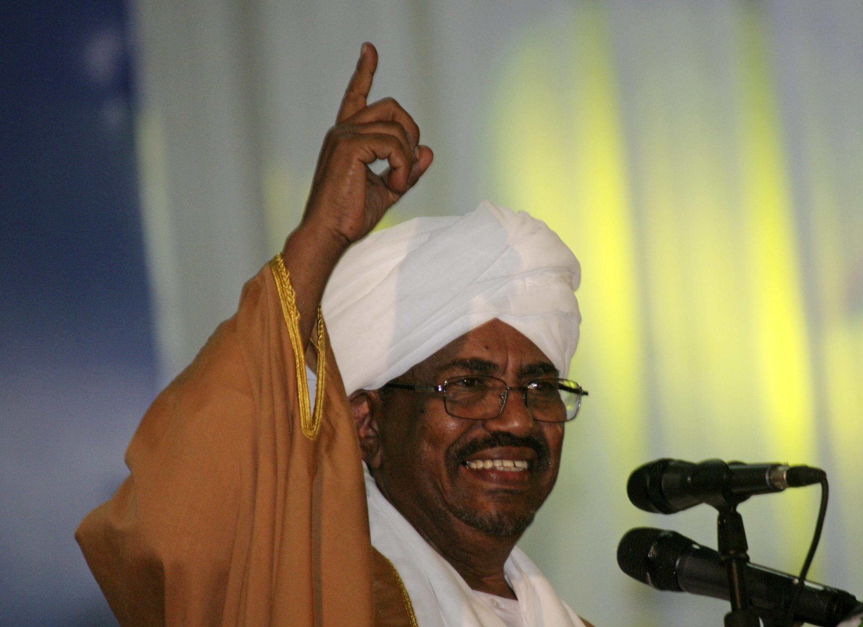 Shugaban Sudan Omar Hassan Al Bashir a Khartoum Fadar gwamnatin kasar.