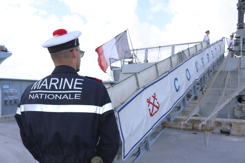France - marine - Courbet - Guam