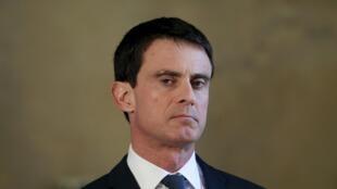 El primer ministro Manuel Valls. Foto de archivo.