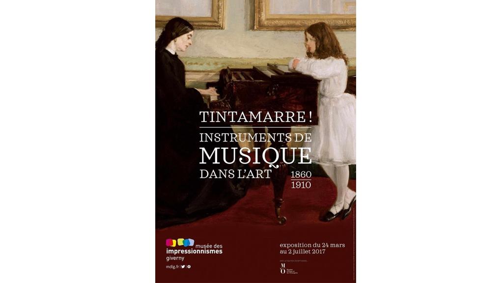L'exposition «Tintamarre, instruments de musique dans l'art, 1860-1910», à voir jusqu'au 2 juillet au musée des impressionnismes Giverny.