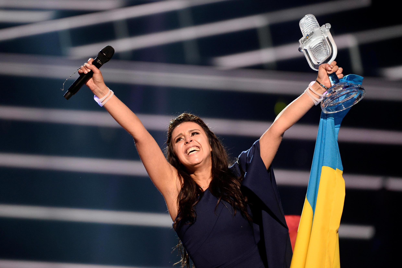 Thí sinh Ukraina,Jamala, giải nhất cuộc thi Eurovision 2016.