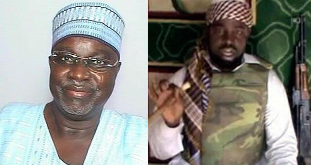 Senata Ahmed Zanna da Shekau shugaban kungiyar Boko Haram.