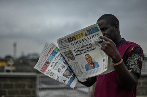 kenya tueur journaux
