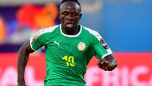 Le Sénégalais Sadio Mané, lors de la CAN 2019.