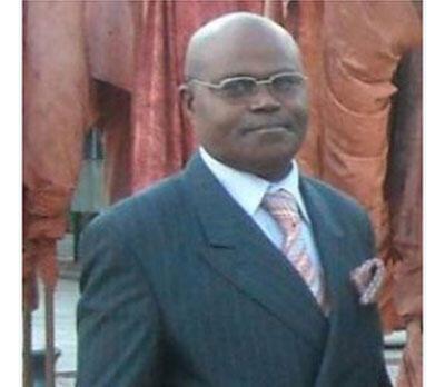 Maître Massengo Tiassé, deuxième vice-président de la Commission nationale des droits de l'homme au Congo-Brazzaville.