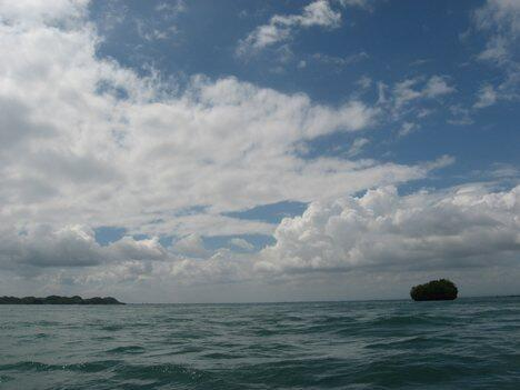 Biển Đông nhìn từ Philippines.