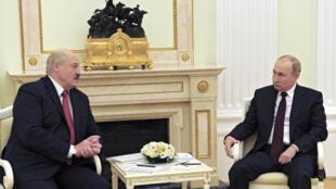 Alexandre Loukachenko - Vladimir Poutine