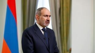 Le Premier ministre arménien Nikol Pachinian.