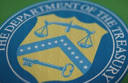 نشان وزارت خزانه داری آمریکا