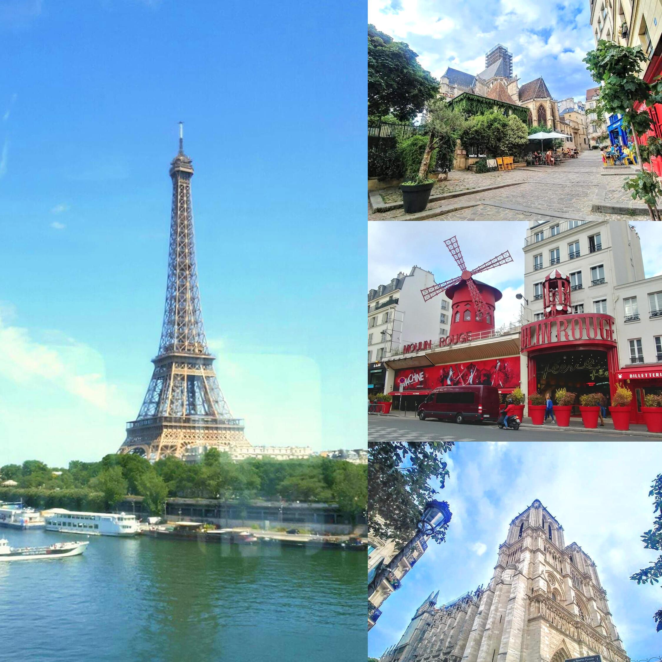 Tháp Eiffel với 2,8 triệu hashtag, vẫn là một trong những kỳ quan ở châu Âu được chia sẻ nhiều nhất trên mạng Instagram