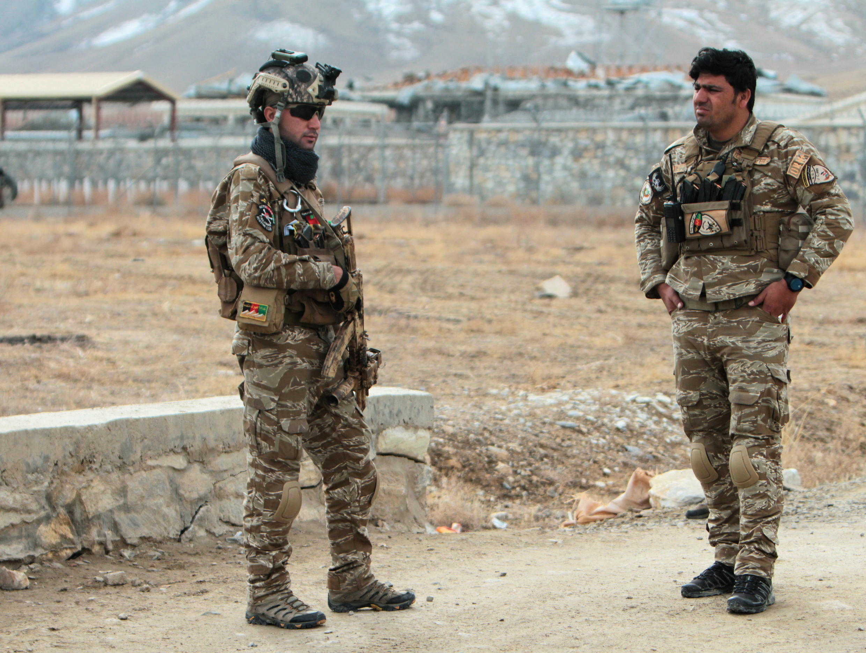 Afghanistan forces de sécurité