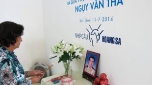 Đã bốn mươi năm, bà quả phụ Ngụy Văn Thà mới có được căn nhà để có chỗ đặt bàn thờ cho người chồng anh hùng.
