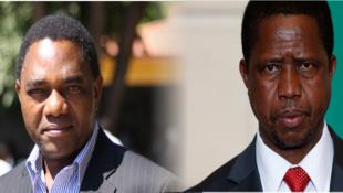 Upinzani mkali ni kati ya Edgar Lungu na Hakainde Hichilema katika matokeo ya uchaguzi wa uraisi nchini Zambia