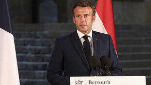 French President Emmanuel Macron took a tough tone on the reforms he said were the only thing holding back a massive aid package that could help Lebanon get back on its feet