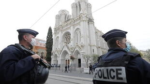 The knife attack took place inside the Basilica of Notre-Dame in the southeastern French city of Nice