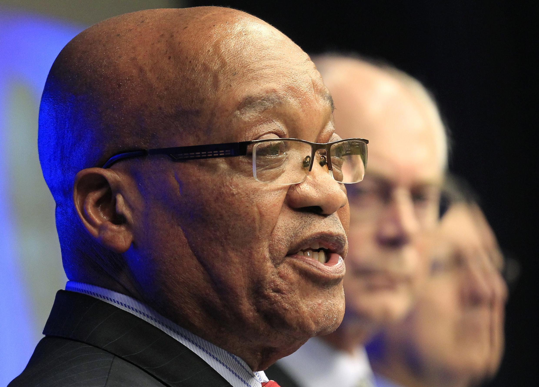 Shugaban kasar Afrika ta Kudu, Jacob Zuma a taron tarayyar kasashen Afrika