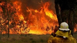 High winds and record temperatures have created a crisis situation in Australia.