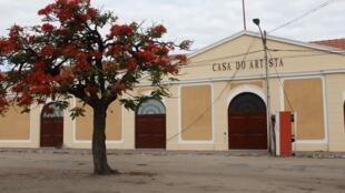 Fachada da Casa do Artista, Beira, Moçambique