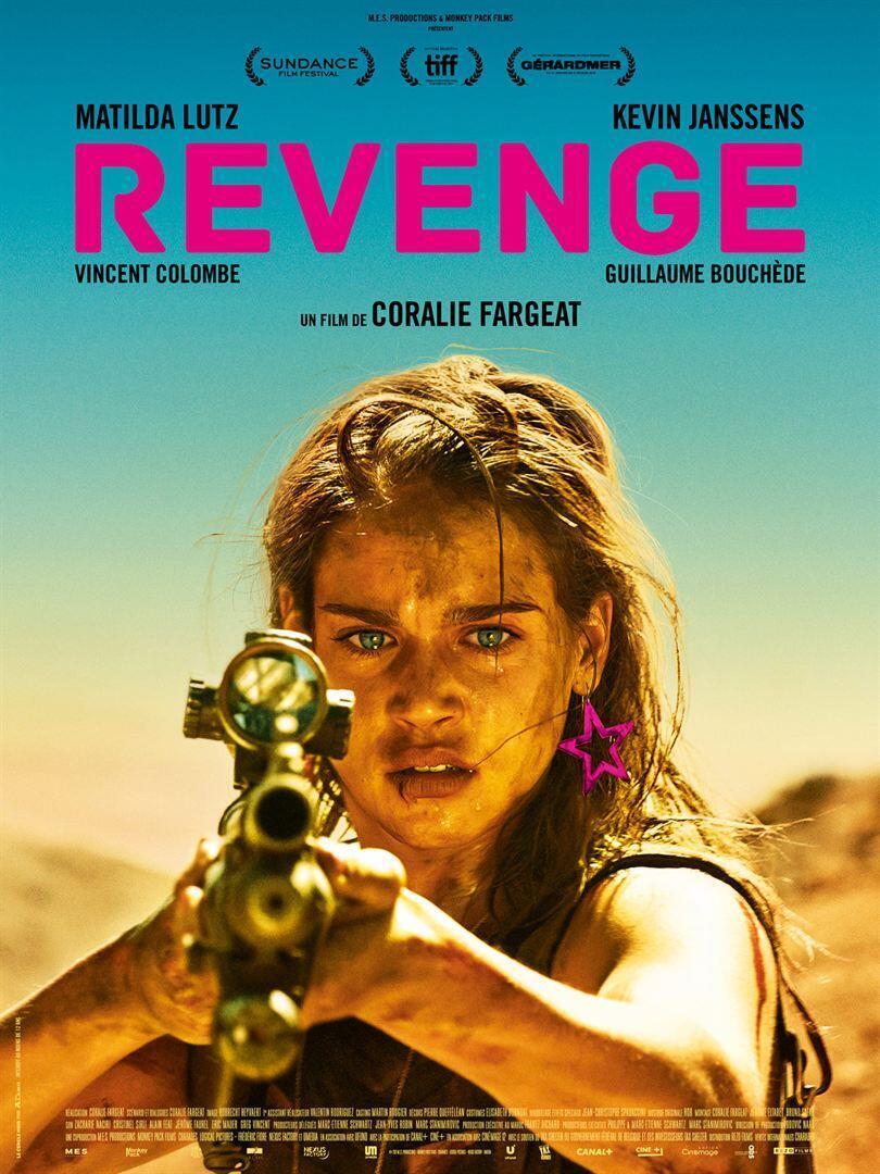 L'affiche du film « Revenge », réalisé par Coralie Fargeat.