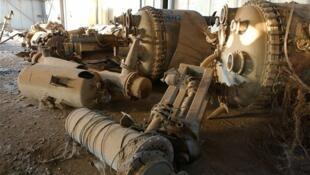 Руины иракского завода по производству химического оружия (архив)