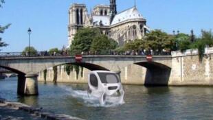 A capital francesa vai ser a primeira cidade no mundo a testar táxis flutuantes no rio Sena.