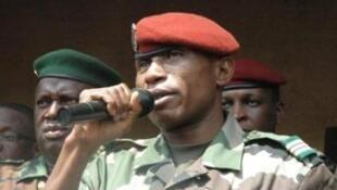 Le capitaine Moussa Dadis Camara.